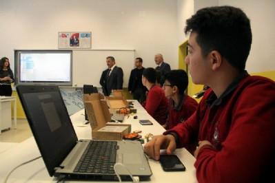 """Samsun'da """"Teknoloji Sınıfı"""" açıldı"""