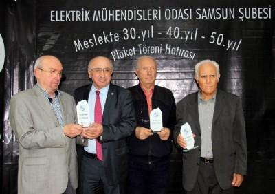 EMO'dan 160 üyeye plaket