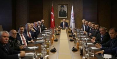 Spor Bakanı Bak, kulüp başkanlarını kabul etti