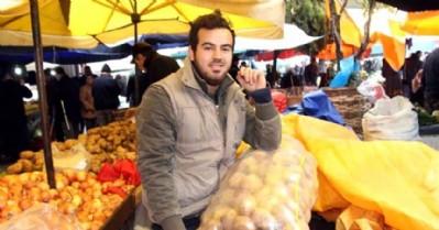 'Cendere' melodisiyle patates satıyor