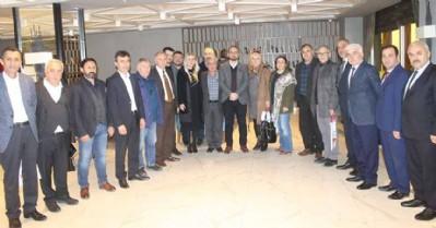 İYİ Parti'de ilçe başkanları toplandı