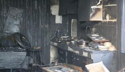 Terme'de yangın 3 can aldı