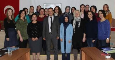 'Gebe Bilgilendirme Sınıfı Eğitici Programı' tamamlandı