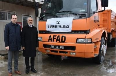 Rektör'den AFAD'a ziyaret