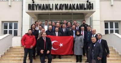 Mehmetçiğe destek için sınıra gittiler