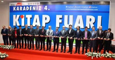 Karadeniz 4'üncü Kitap fuarı açıldı