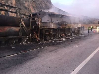 Çorum'da kahreden kaza: 13 ölü