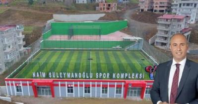 Naim Süleymanoğlu Spor Kompleksi açılıyor