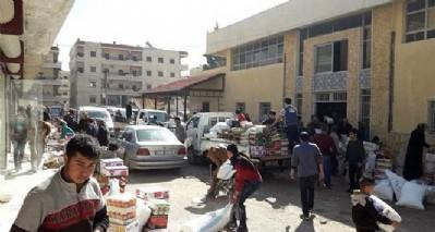 Afrin halkı PYD deposunu bastı