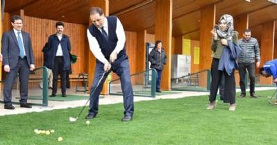 Ombudsman golf sahasını gezdi