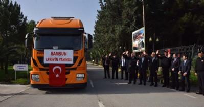 Samsun Afrin'in yanında
