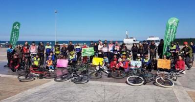 Kalp Sağlığı Haftası'nda bisiklet turu