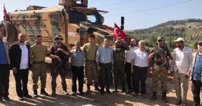 Başkan Genç Afrin'de
