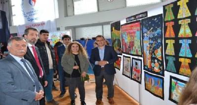 Alaçam'da resim sergisi