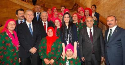 Kadın çiftçilerden Ankara çıkarması