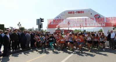 19 Mayıs Maratonu koşuldu