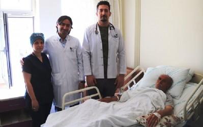 Alaçam'da ilk ameliyat!