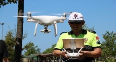 Drone ile trafik denetimi