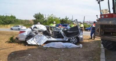 Gezi dönüşü kaza: 1 ölü 3 yaralı