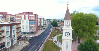 Tekkeköy'de yol atağı sürüyor