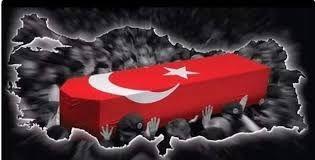 Türkiye şehitlerine ağlıyor