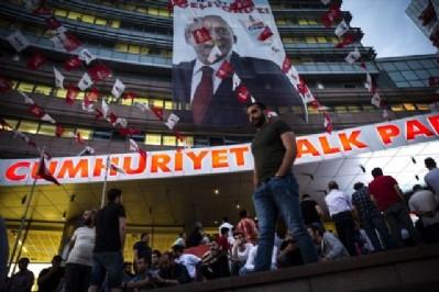 CHP genel merkezinde Muharrem İnce sesleri