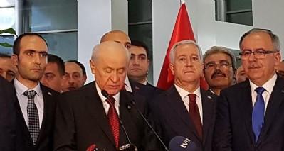 Bahçeli: 'Türk milleti MHP'yi kilit parti yapmış'