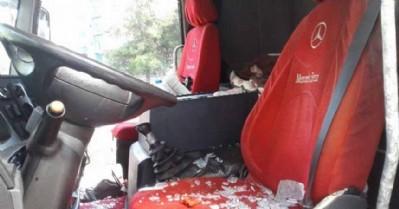 Tır şoförü aracında ölü bulundu