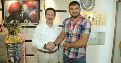 Şaban Yılmaz'dan Başkan Tok'a ziyaret
