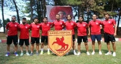 Samsunspor'da9 yeni isim