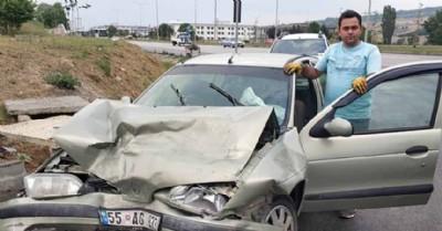 Aynı yerde iki kaza: 7 yaralı