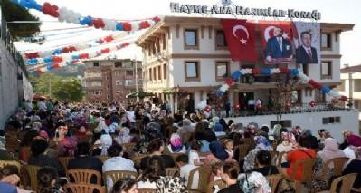 Hayme Ana Hanımlar Konağı Tekkeköy'de açıldı