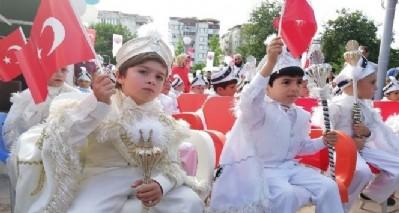 Bafra'da sünnet şöleni