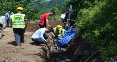Kırsalın su sorunu çözülüyor