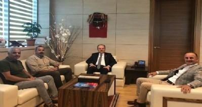 Başkan Uyanık, Ankara turunda