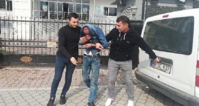 Akü hırsızları tutuklandı