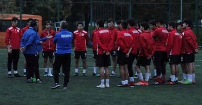 U16'da Çorumspor hazırlıkları başladı