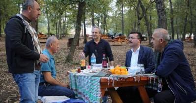 Doğayla iç içe piknik keyfi