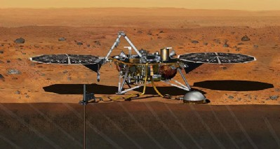 InSight Mars'a indi
