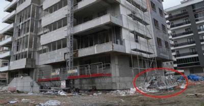 15'inci kattan yere çakıldılar: 1 ölü, 1 yaralı