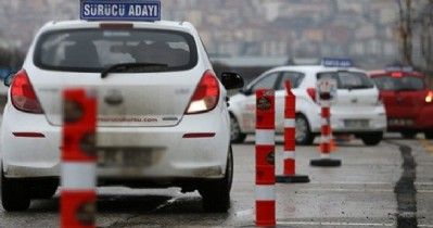 Sürücü kurslarına şok yasa