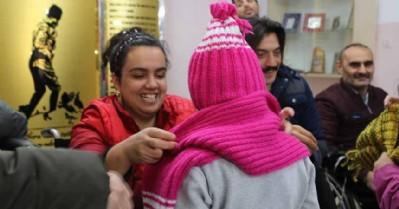 Atakum'da engelliler, çocuklar için harekete geçti
