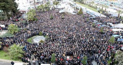 Bahçeli'ye rağmen binler uğurladı