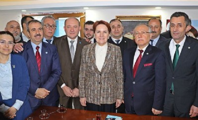 Samsun'dan Akşener geçti