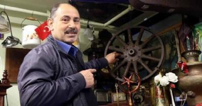 Atatürk'ün otomobilinin jantına 55 bin TL istiyor