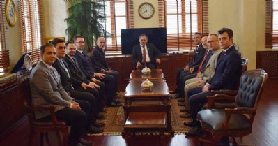 MMO'dan Başkan Demir'e 'hayırlı olsun' ziyareti