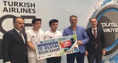 Bilim Kampı Proje Yarışması'nda SSBL şampiyon oldu