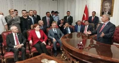 Kılıçdaroğlu'ndan Demirtaş'a ziyaret