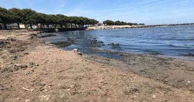 O plajlar halkın kullanımına kapatıldı