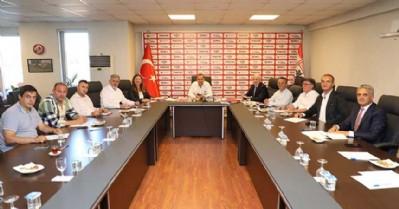 Samsunspor'da görev dağılımı